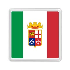 Naval Ensign Of Italy Memory Card Reader (square)  by abbeyz71
