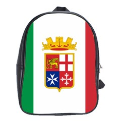 Naval Ensign Of Italy School Bags (xl)  by abbeyz71