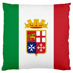 Naval Ensign Of Italy Standard Flano Cushion Case (one Side) by abbeyz71
