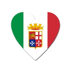Naval Ensign Of Italy Heart Magnet by abbeyz71