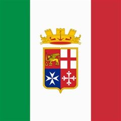Naval Ensign Of Italy Canvas 12  X 12   by abbeyz71