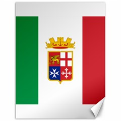 Naval Ensign Of Italy Canvas 12  X 16   by abbeyz71