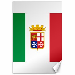 Naval Ensign Of Italy Canvas 20  X 30