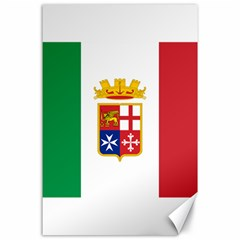 Naval Ensign Of Italy Canvas 24  X 36  by abbeyz71