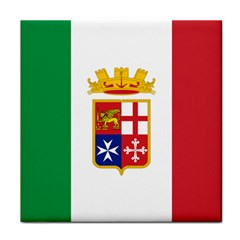 Naval Ensign Of Italy Face Towel by abbeyz71