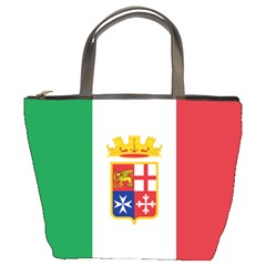 Naval Ensign Of Italy Bucket Bags by abbeyz71