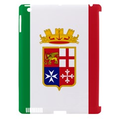 Naval Ensign Of Italy Apple Ipad 3/4 Hardshell Case (compatible With Smart Cover) by abbeyz71