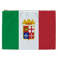 Naval Ensign Of Italy Cosmetic Bag (xxl)  by abbeyz71