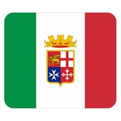 Naval Ensign Of Italy Double Sided Flano Blanket (small)  by abbeyz71