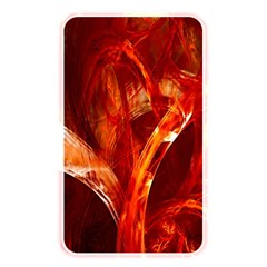 Red Abstract Pattern Texture Memory Card Reader