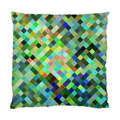 Pixel Pattern A Completely Seamless Background Design Standard Cushion Case (one Side)