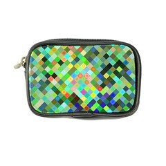Pixel Pattern A Completely Seamless Background Design Coin Purse