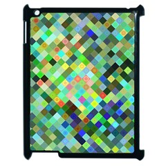 Pixel Pattern A Completely Seamless Background Design Apple Ipad 2 Case (black)