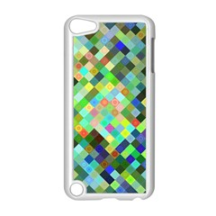Pixel Pattern A Completely Seamless Background Design Apple Ipod Touch 5 Case (white) by Nexatart