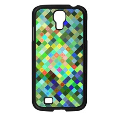 Pixel Pattern A Completely Seamless Background Design Samsung Galaxy S4 I9500/ I9505 Case (black) by Nexatart