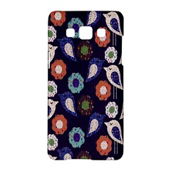 Cute Birds Seamless Pattern Samsung Galaxy A5 Hardshell Case  by Nexatart