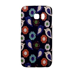 Cute Birds Seamless Pattern Galaxy S6 Edge