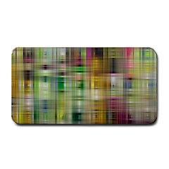 Woven Colorful Abstract Background Of A Tight Weave Pattern Medium Bar Mats by Nexatart