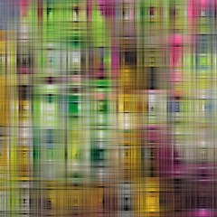 Woven Colorful Abstract Background Of A Tight Weave Pattern Magic Photo Cubes by Nexatart