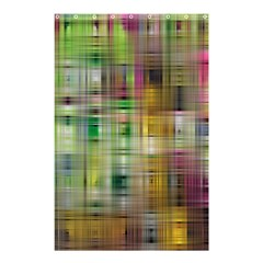 Woven Colorful Abstract Background Of A Tight Weave Pattern Shower Curtain 48  X 72  (small)  by Nexatart