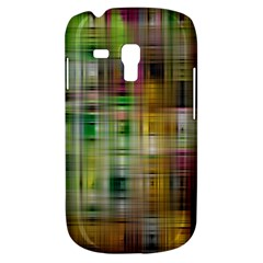 Woven Colorful Abstract Background Of A Tight Weave Pattern Galaxy S3 Mini by Nexatart
