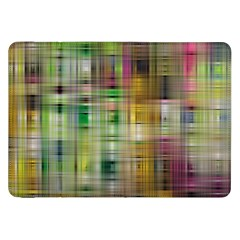 Woven Colorful Abstract Background Of A Tight Weave Pattern Samsung Galaxy Tab 8 9  P7300 Flip Case by Nexatart