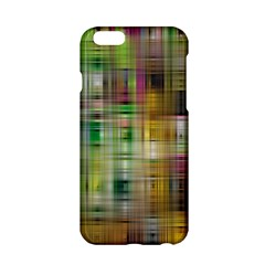 Woven Colorful Abstract Background Of A Tight Weave Pattern Apple Iphone 6/6s Hardshell Case by Nexatart