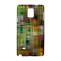 Woven Colorful Abstract Background Of A Tight Weave Pattern Samsung Galaxy Note 4 Hardshell Case by Nexatart