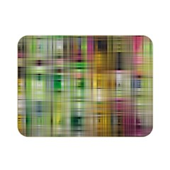 Woven Colorful Abstract Background Of A Tight Weave Pattern Double Sided Flano Blanket (mini)  by Nexatart