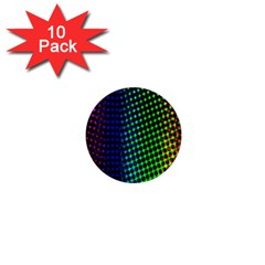Digitally Created Halftone Dots Abstract 1  Mini Magnet (10 Pack)
