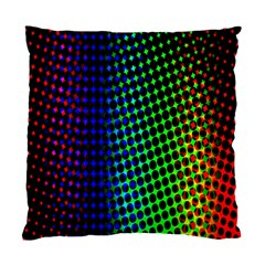 Digitally Created Halftone Dots Abstract Standard Cushion Case (one Side)