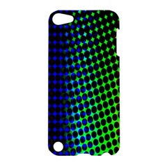 Digitally Created Halftone Dots Abstract Apple Ipod Touch 5 Hardshell Case