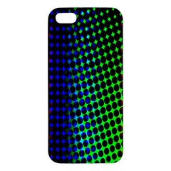 Digitally Created Halftone Dots Abstract Apple Iphone 5 Premium Hardshell Case