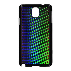 Digitally Created Halftone Dots Abstract Samsung Galaxy Note 3 Neo Hardshell Case (black)
