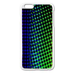 Digitally Created Halftone Dots Abstract Apple Iphone 6 Plus/6s Plus Enamel White Case by Nexatart