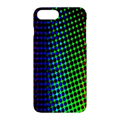 Digitally Created Halftone Dots Abstract Apple Iphone 7 Plus Hardshell Case