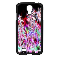 Fractal Fireworks Display Pattern Samsung Galaxy S4 I9500/ I9505 Case (black) by Nexatart