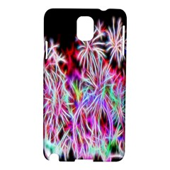 Fractal Fireworks Display Pattern Samsung Galaxy Note 3 N9005 Hardshell Case