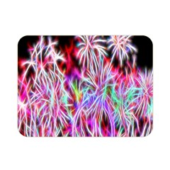 Fractal Fireworks Display Pattern Double Sided Flano Blanket (mini)  by Nexatart