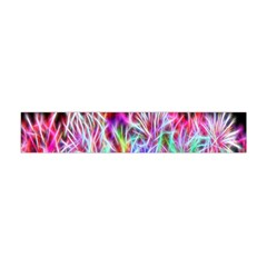 Fractal Fireworks Display Pattern Flano Scarf (mini) by Nexatart
