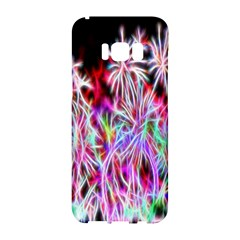Fractal Fireworks Display Pattern Samsung Galaxy S8 Hardshell Case  by Nexatart
