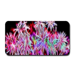 Fractal Fireworks Display Pattern Medium Bar Mats by Nexatart