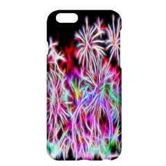 Fractal Fireworks Display Pattern Apple Iphone 6 Plus/6s Plus Hardshell Case by Nexatart