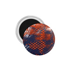 Dark Blue Red And White Messy Background 1 75  Magnets