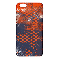 Dark Blue Red And White Messy Background Iphone 6 Plus/6s Plus Tpu Case by Nexatart