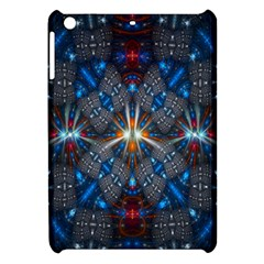Fancy Fractal Pattern Background Accented With Pretty Colors Apple Ipad Mini Hardshell Case by Nexatart