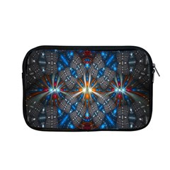 Fancy Fractal Pattern Background Accented With Pretty Colors Apple Macbook Pro 13  Zipper Case