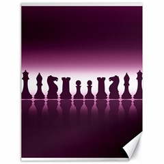 Chess Pieces Canvas 18  X 24   by Valentinaart