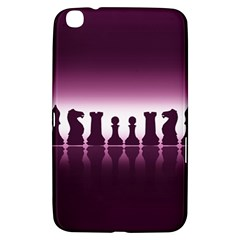 Chess Pieces Samsung Galaxy Tab 3 (8 ) T3100 Hardshell Case  by Valentinaart