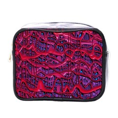 Plastic Mattress Background Mini Toiletries Bags by Nexatart